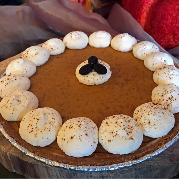Pumpkin Latte Cream Pie