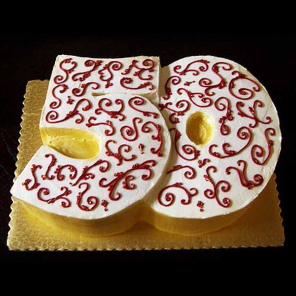 CELEBRATING AGE CAKE