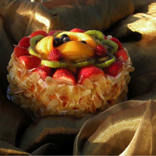 Fruit Bavarian Cake