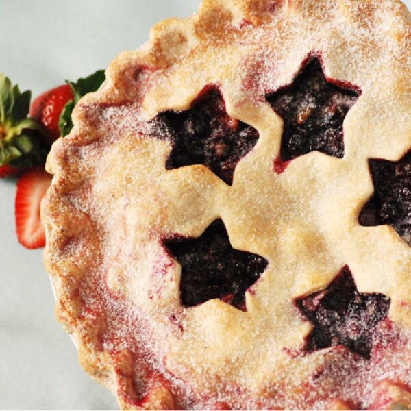 Red White And Berry Pie