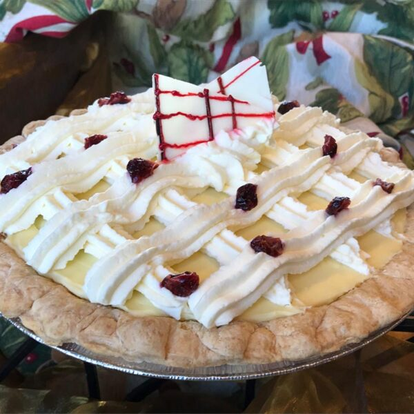 HOLIDAY CRIMSON PIE