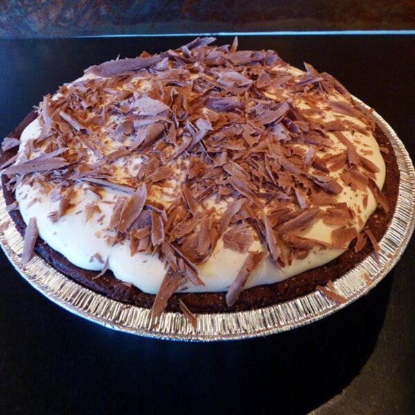 Chocolate Caramel Cream Pie