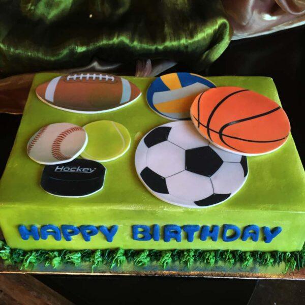 VARIETY SPORTS CAKE