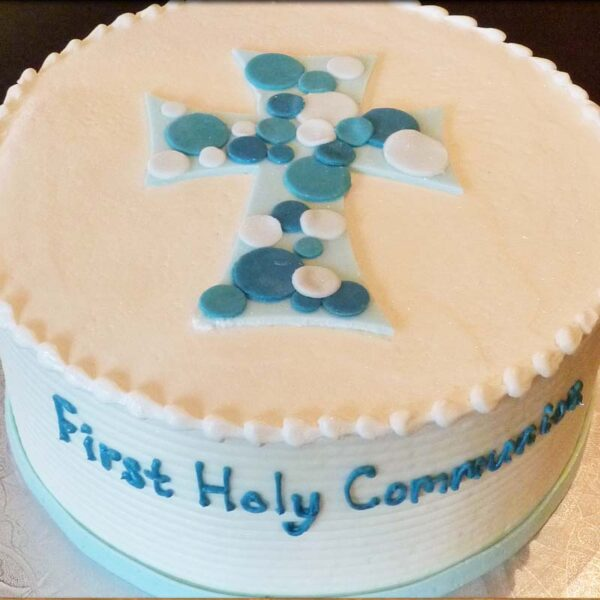 FONDANT DOT CROSS