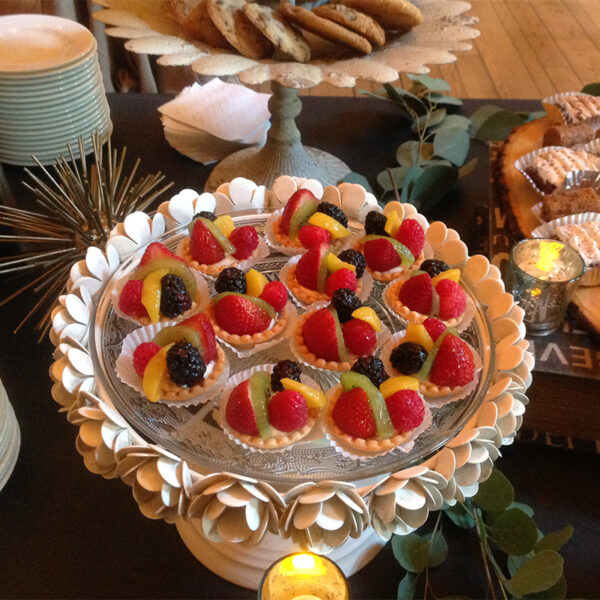 Bavarin Fruit Tarts