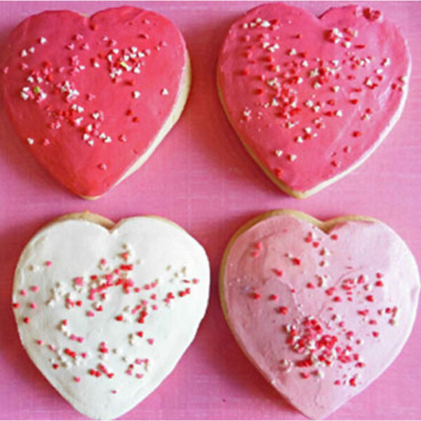 Valentines Softies Cookies