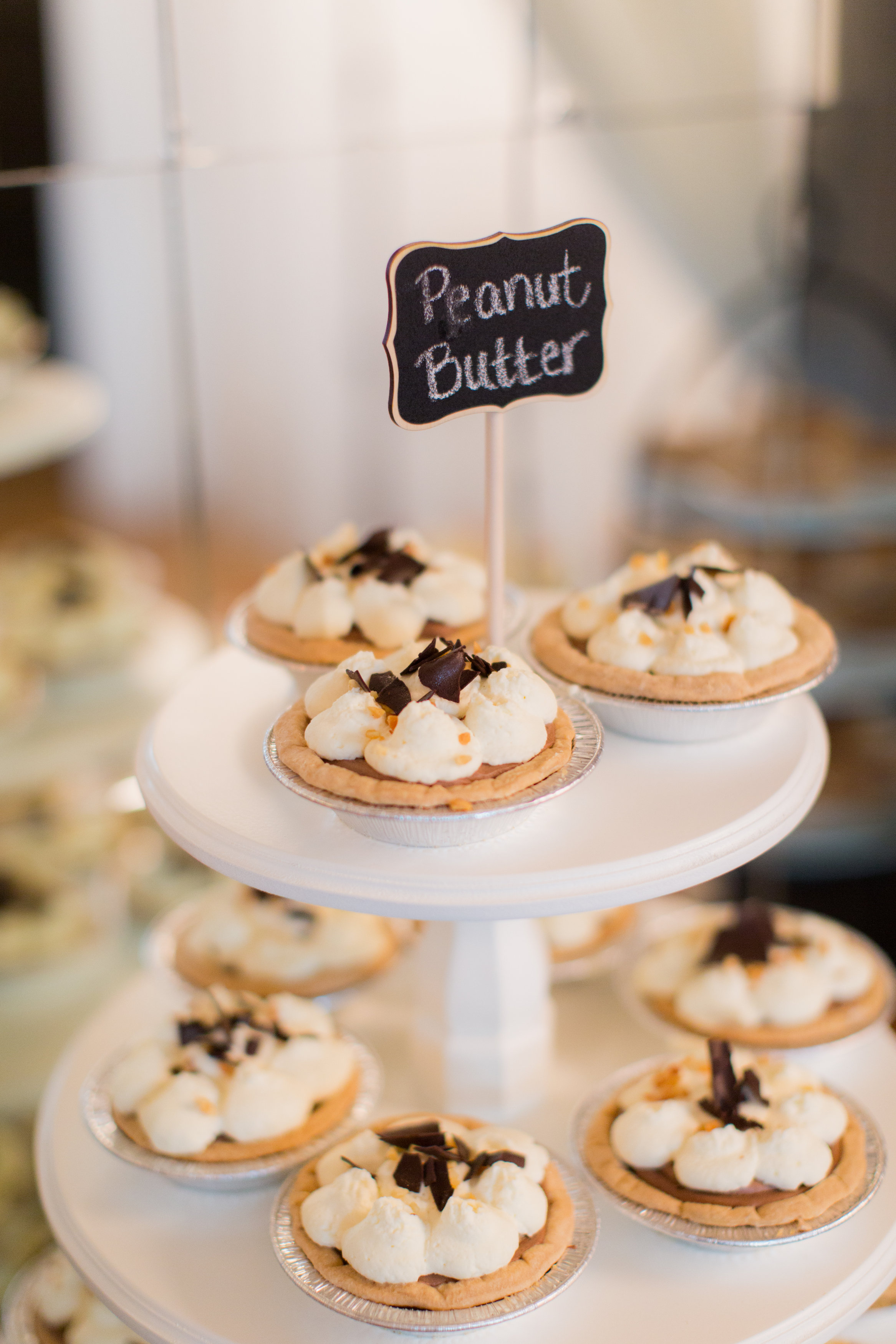 Peanut Butter Mini Pies