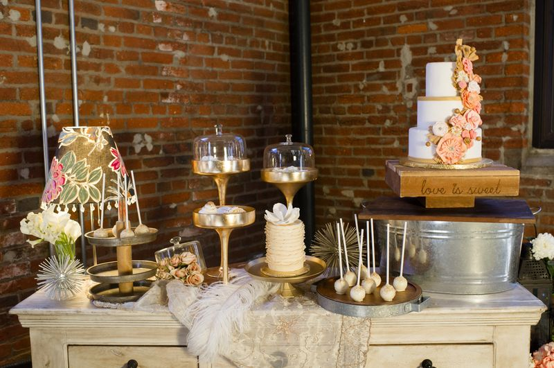 Variety Dessert Table