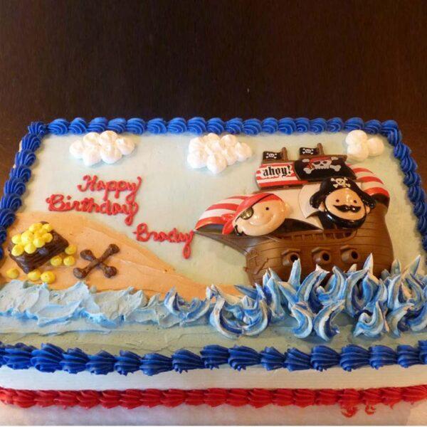 C-37A Pirate Cake