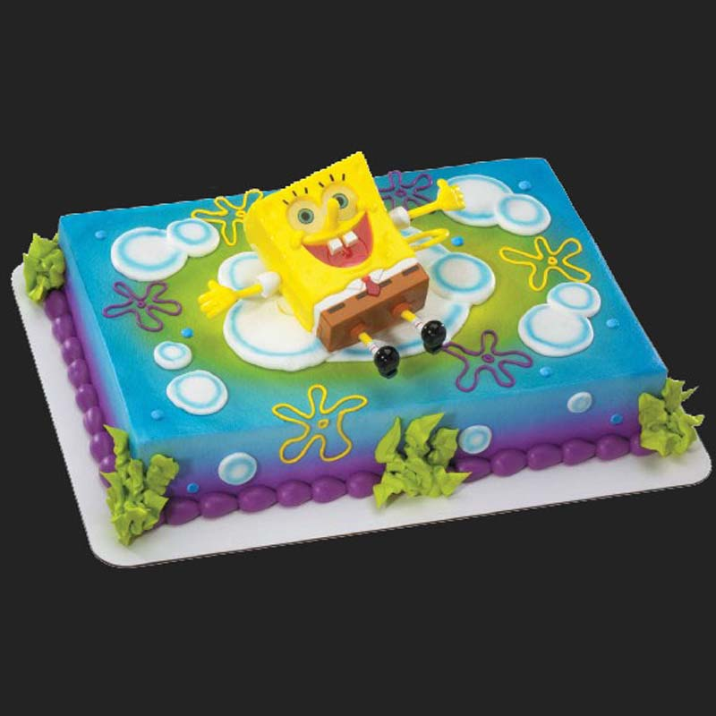 Wondrous Cd 18 Spongebob Cake Amphora Bakery Funny Birthday Cards Online Alyptdamsfinfo