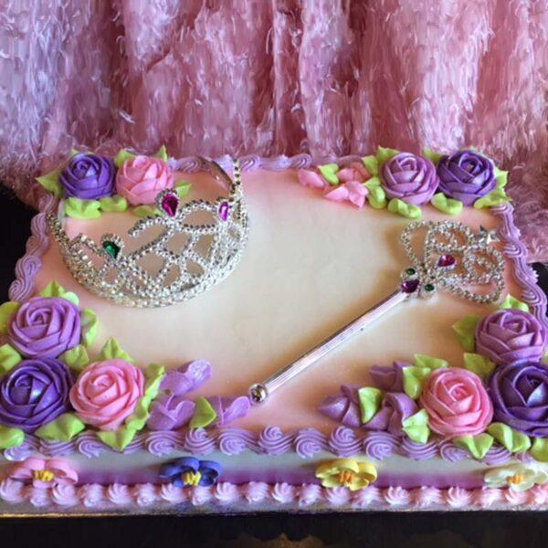 C-134 TIARA PRINCESS CAKE