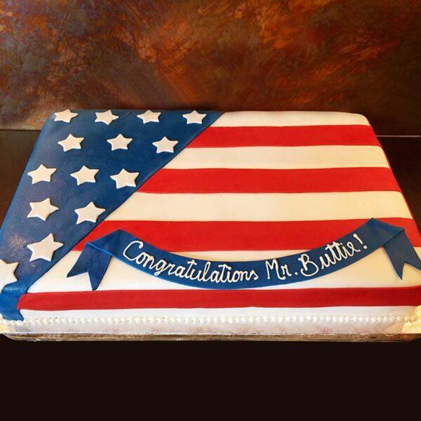 A-57 FLAG CAKE