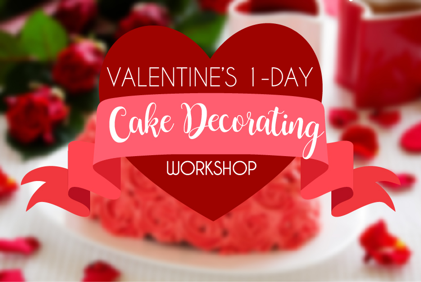Heart Cake Floral workshop-01