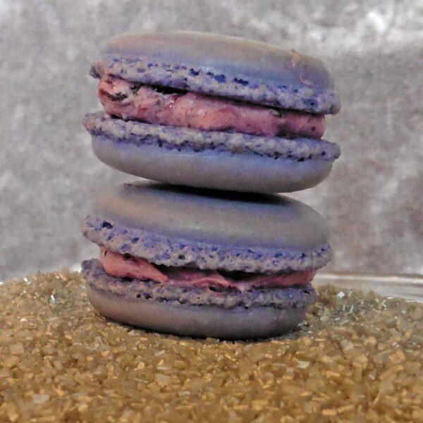 Blueberry Macaron