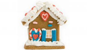WHIMSICAL GINGERBREAD HOUSE